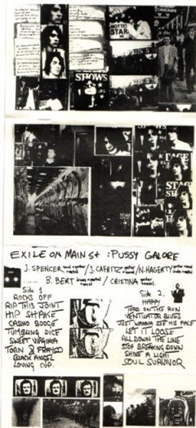 Pussy Galore - Exile On Main Street