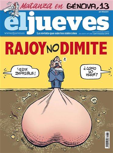 El Jueves - Rajoy no dimite